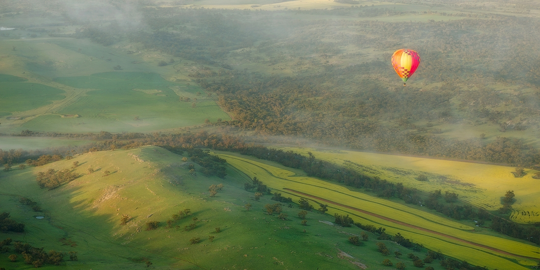 Hot Air Ballon, Northam