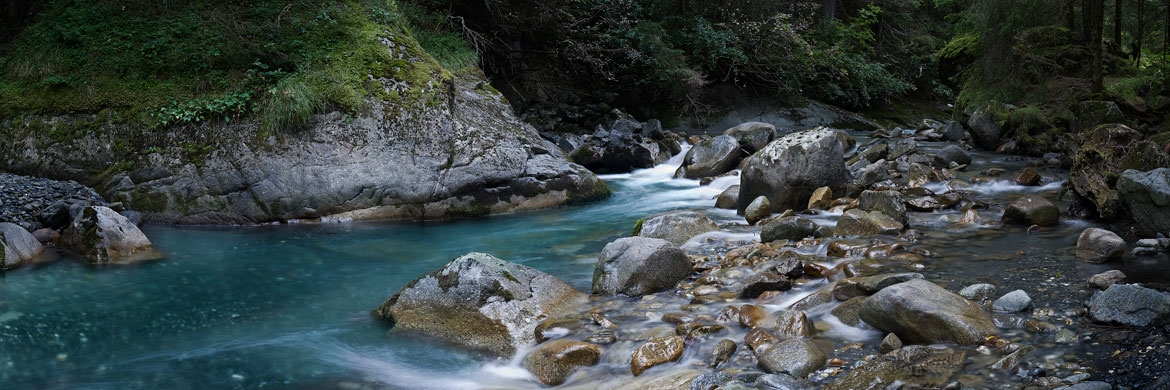 Vallorcine Creek, France