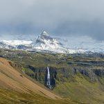 Mountain range, Iceland